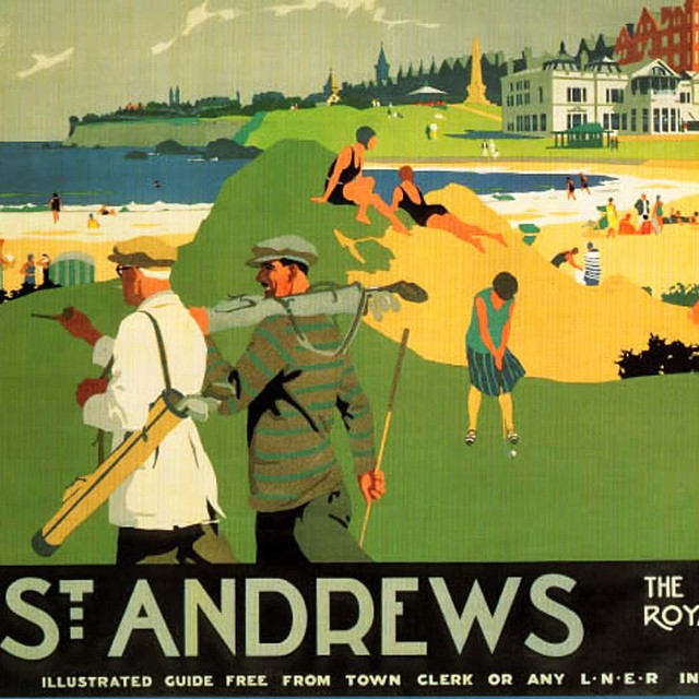 Chilling at St. Andrews! #golf #standrews #oldcourse