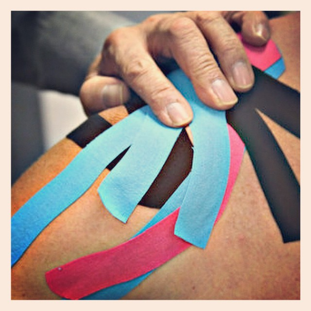 NEW BLOG POST: How Kinesiology Taping is Helping Golfers | #golf  #golffitness #kinesiologytape #kinesiotape http://golfdashblog.com