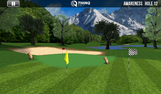 ThinqGolf Awareness Game