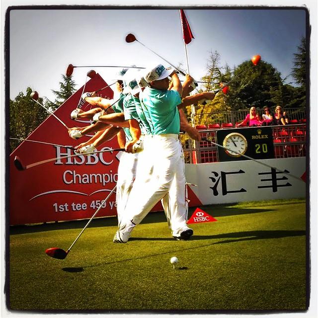 Rickie! #golf #instagolf #golfpics #golfswing ? ? ☀️⛳️? ?