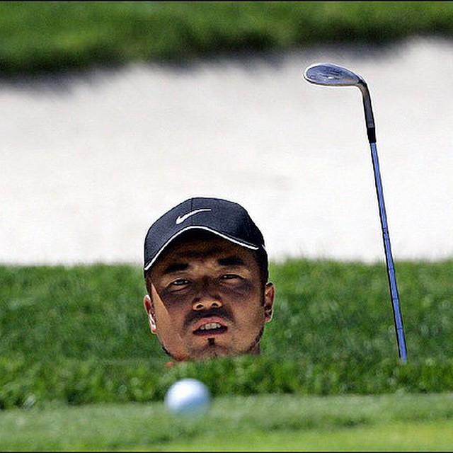 Bunkersville! #golf #bunker #golfswing ⛳️⛳️⛳️