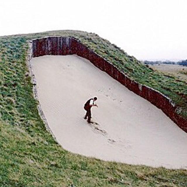 Bunker, Royal St. George. #golf #instagolf #golfcourse #royalstgeorge #bunker ⛳️?