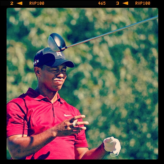 The story of Tiger's weekend. #golf #instagolf #tiger #tigerwoods #twg ??⛳️