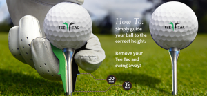 Perfect Tee-Height with Tee Tac