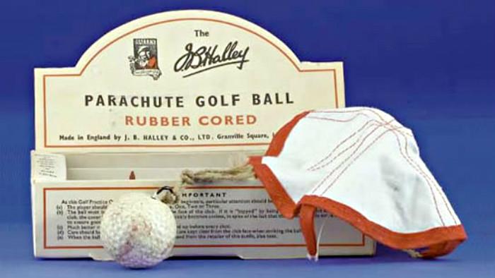 parachute golf balls